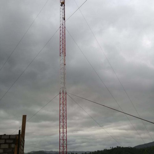 Communications Tower Post-Installation