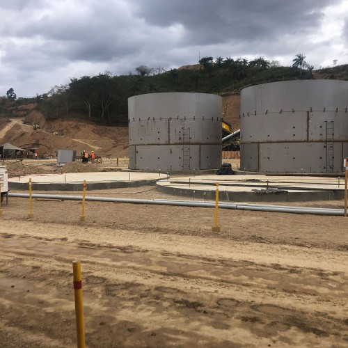 Process plant tank construction 3rd ring 2