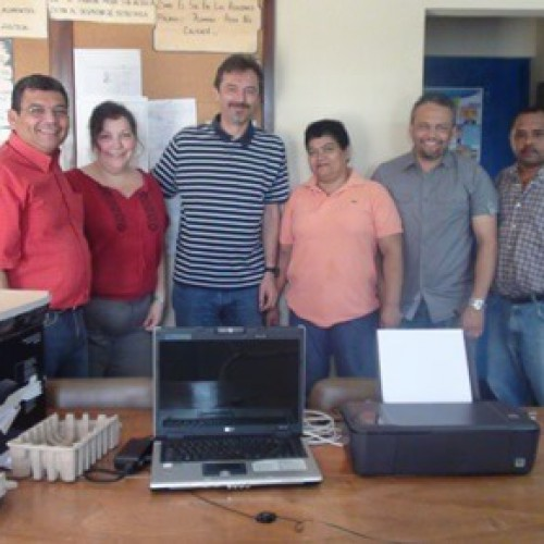 Donation Of Equipment To The Municipal Court Of El Jicaro
