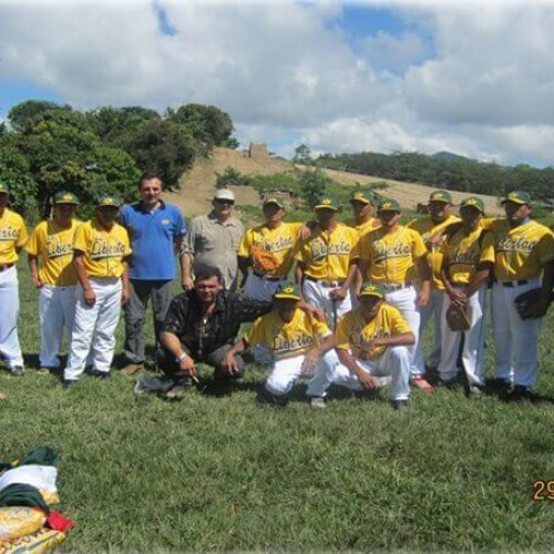 Sponsor Of A Local Baseball Team From El Jícaro.