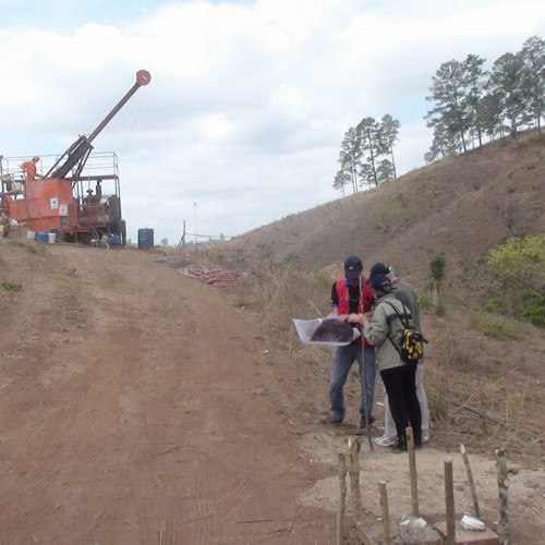 Drilling at San Albino Zone