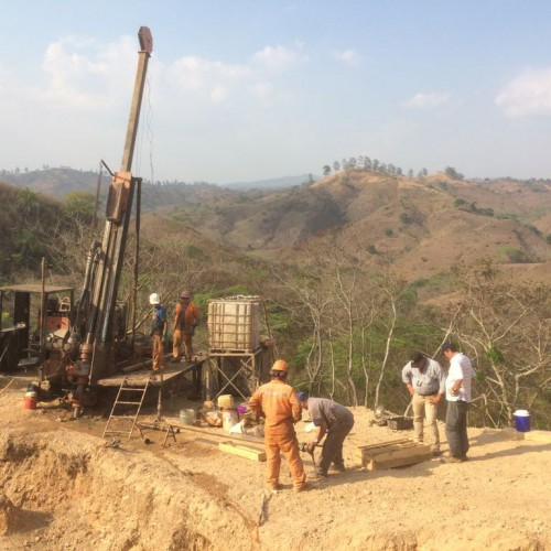 Drilling Program at San Albino Deposit