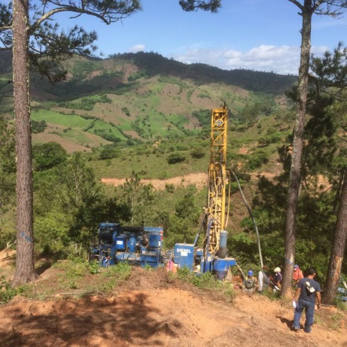 RC Drilling at San Albino Deposit